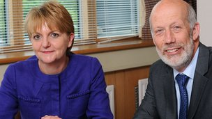 Sue McAllister and David Ford