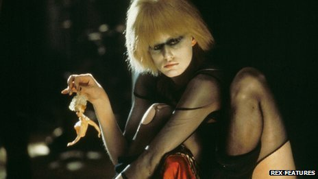 Daryl Hannah in a scene from the film Blade Runner