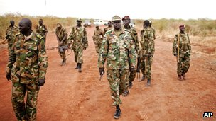 Sudan People's Liberation Army soldiers