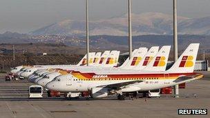 Iberia aircraft