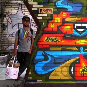 Chinese graffiti artist Gas