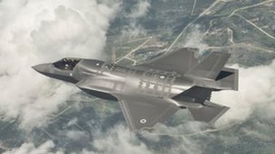 F-35 Joint Strike Fighter jet