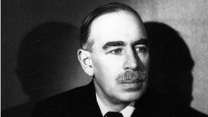 John Maynard Keynes in 1938