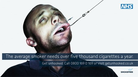 Anti-smoking advert