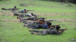 Maoists in Chhattisgarh (July 2012)