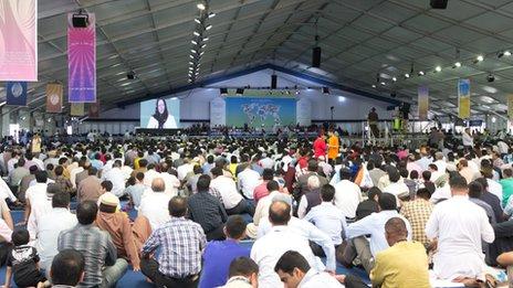 Jalsa Salana event