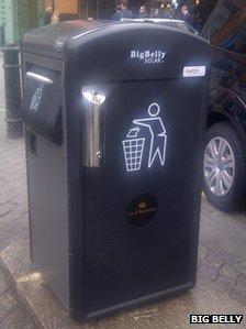 Big Belly bins