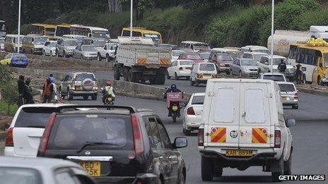 Nairobi jam
