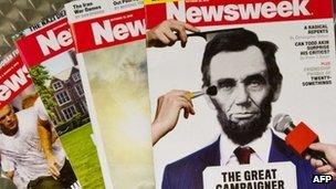 Newsweek magazine goes online