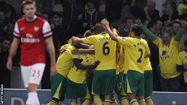 Norwich celebrate