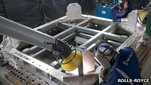Manufacturing nuclear parts