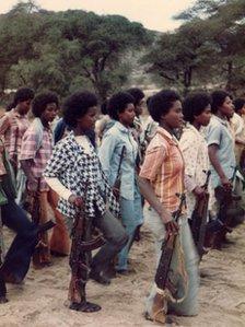 EPLF women fighters