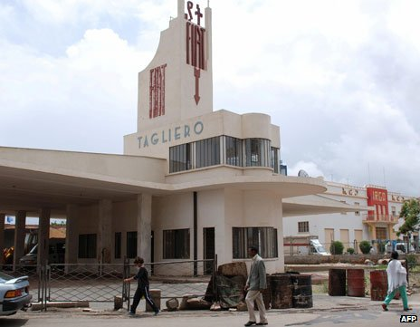 Fiat building, Asmara