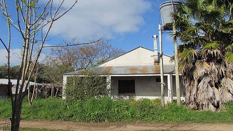 President Mujica's house
