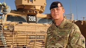 Corporal Kirk Buck