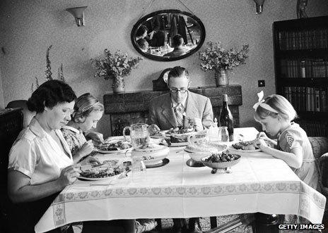 Family dinner 1938