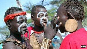 Ethiopia ethnic tribes