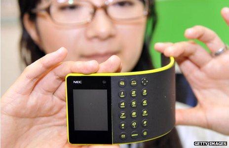 Concept phone, NEC