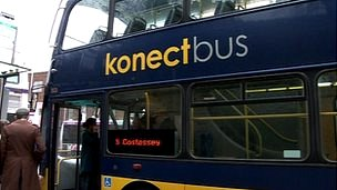 Number five bus