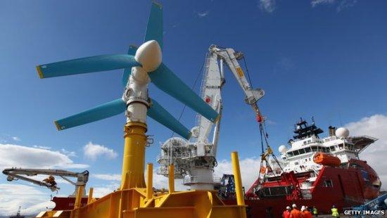 Scotland turbine