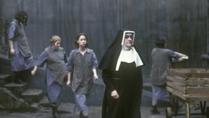 Picture from BBC drama sinners about life in a Magdalene laundry
