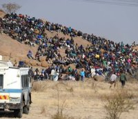 Marikana mine strikers (15 August 2012)