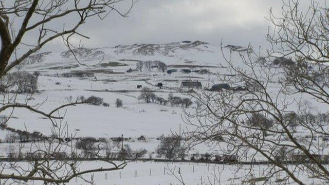 Snow in April 2013