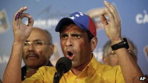 Henrique Capriles (14/04/13)