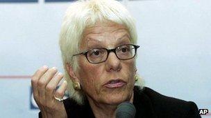 Carla del Ponte (file photo)