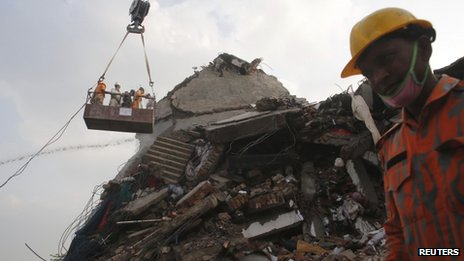 Rana Plaza rescue operation