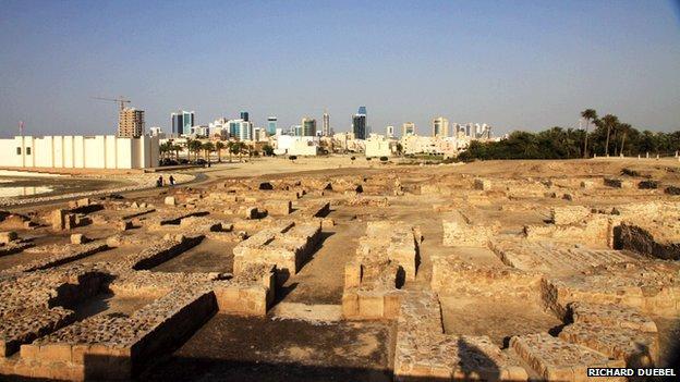 Dilmun site at Bahrain fort