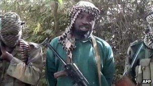 Abubakar Shekau, leader of Boko Haram