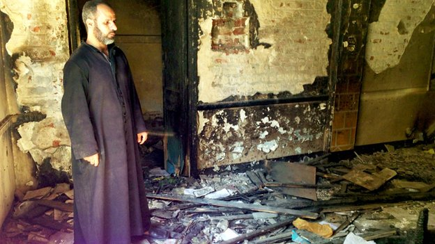 Church Destroyed By Muslims