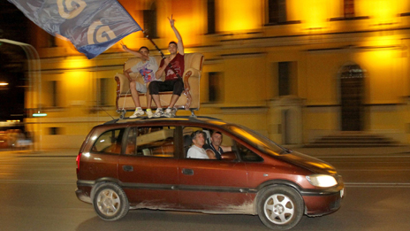 Celebrations after June's elections