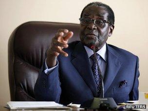 Robert Mugabe (7 August 2013)