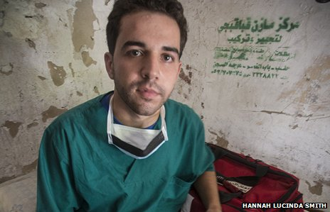 Sam - a doctor in Aleppo