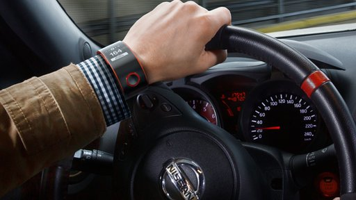 Nissan relógio inteligente
