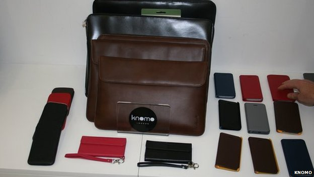 Leather computer accessories