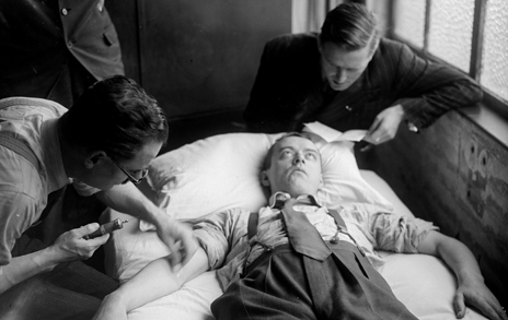 Truth drug experiment, 1945