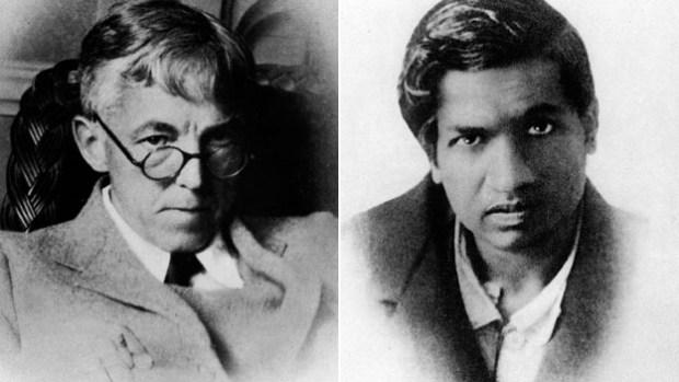 GH Hardy and Srinivas Ramanujan