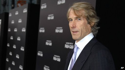 """American file director Michael Bay arrives at the LA Premiere of """"Pain and Gain"""" at the TCL Theatre on Monday, April 22, 2013 in Hollywood"""