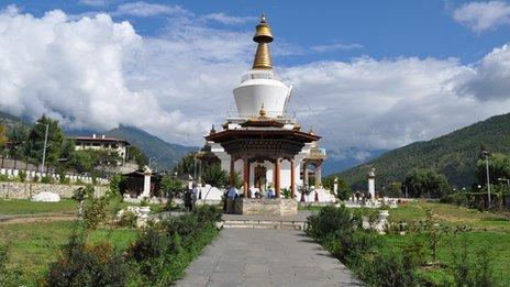 National Memorial Chorten in Thimphu