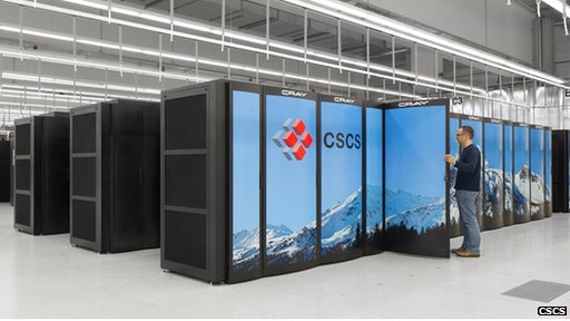 Piz Daint supercomputer