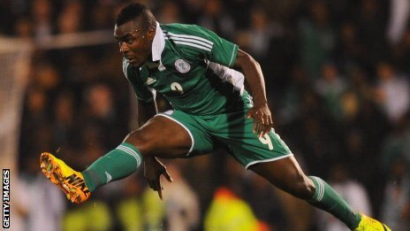 Emmanuel Emenike of Nigeria