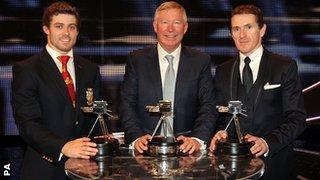 Leigh Halfpenny, Sir Alex Ferguson and AP McCoy