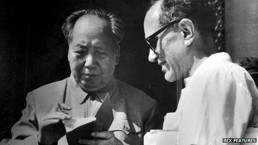 Sidney Rittenberg meets Mao Zedong (C 1970)