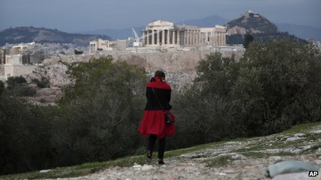 Nothing is allowed to stand taller than the Parthenon on the Athens skyline