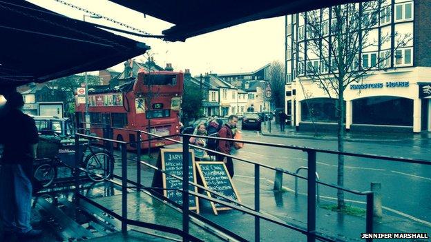 Transport for London said the bus hit a rail bridge near Norbiton Station
