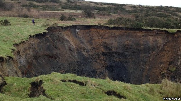 Derbyshire sink hole