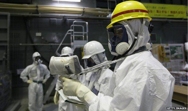 Fukushima inspection 2013
